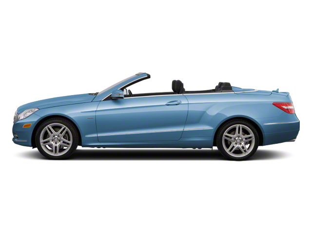 Quartz Blue Metallic 2012 Mercedes-Benz E-Class Pictures E-Class Convertible 2D E350 photos side view