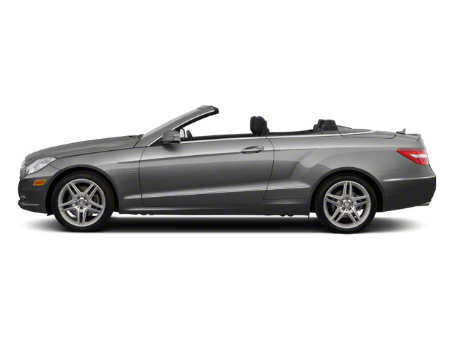 Palladium Silver Metallic 2012 Mercedes-Benz E-Class Pictures E-Class Convertible 2D E350 photos side view