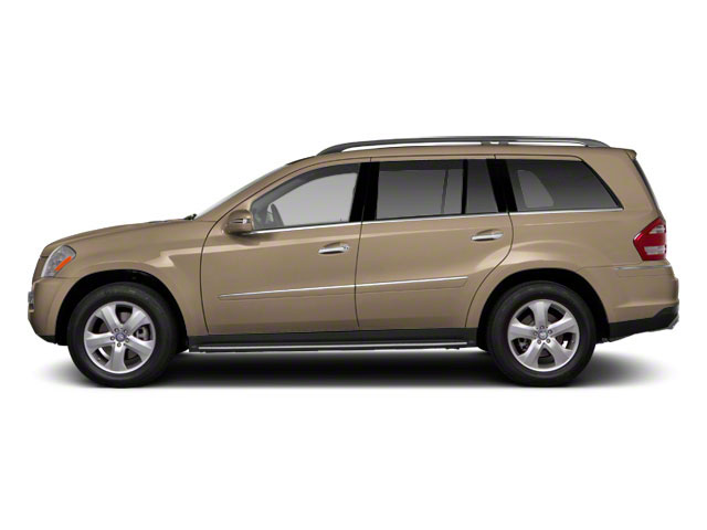 Pearl Beige Metallic 2012 Mercedes-Benz GL-Class Pictures GL-Class Utility 4D GL550 4WD photos side view