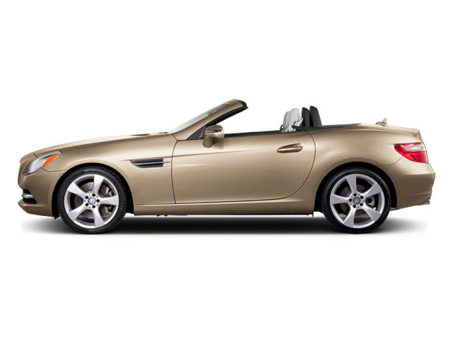 Pearl Beige Metallic 2012 Mercedes-Benz SLK-Class Pictures SLK-Class Roadster 2D SLK350 photos side view