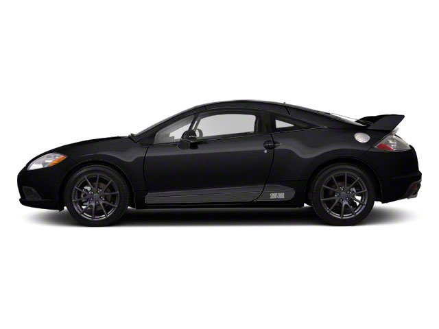 Kalapana Black 2012 Mitsubishi Eclipse Pictures Eclipse Coupe 2D GS Sport  Photos Side View