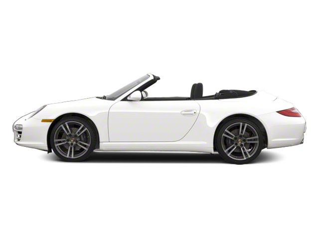 Carrara White 2012 Porsche 911 Pictures 911 Cabriolet 2D Turbo AWD photos side view