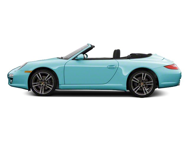 Ipanema Blue Metallic 2012 Porsche 911 Pictures 911 Cabriolet 2D 4S AWD photos side view
