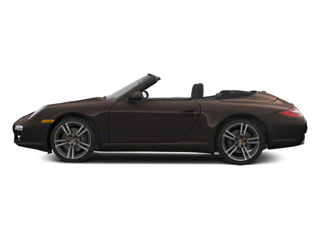 Anthracite Brown Metallic 2012 Porsche 911 Pictures 911 Cabriolet 2D S photos side view