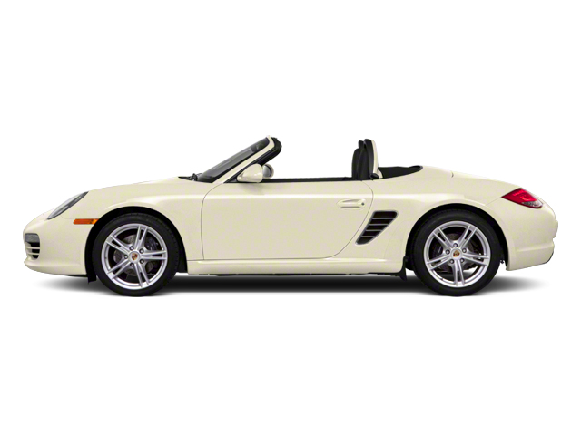 Cream White 2012 Porsche Boxster Pictures Boxster Roadster 2D Spyder photos side view