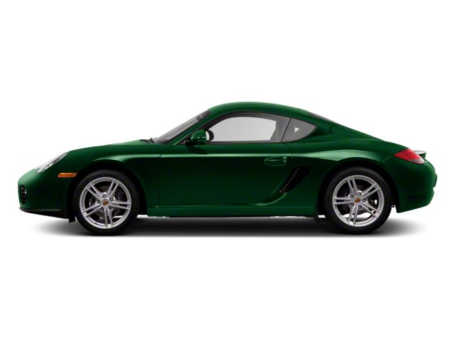 Porsche Racing Green Metallic 2012 Porsche Cayman Pictures Cayman Coupe 2D photos side view