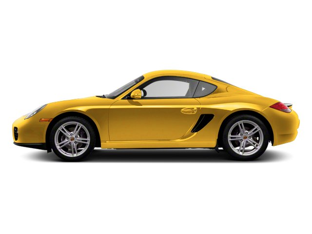 Speed Yellow 2012 Porsche Cayman Pictures Cayman Coupe 2D photos side view