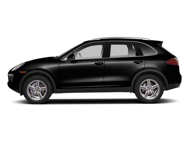 Jet Black Metallic 2012 Porsche Cayenne Pictures Cayenne Utility 4D S AWD (V8) photos side view