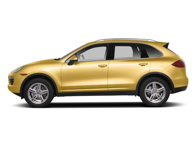 Sand Yellow 2012 Porsche Cayenne Pictures Cayenne Utility 4D S AWD (V8) photos side view