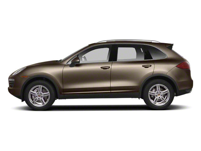Umber Metallic 2012 Porsche Cayenne Pictures Cayenne Utility 4D Turbo AWD (V8) photos side view