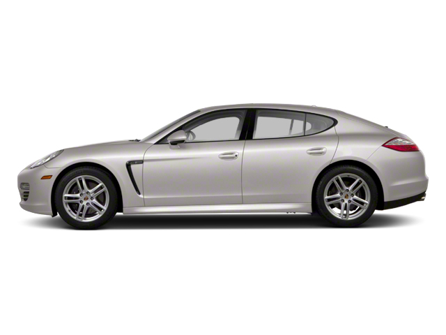 Platinum Silver Metallic 2012 Porsche Panamera Pictures Panamera Hatchback 4D Turbo AWD photos side view