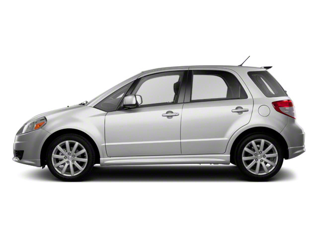 Quicksilver Metallic 2012 Suzuki SX4 Pictures SX4 Hatchback 5D AWD photos side view