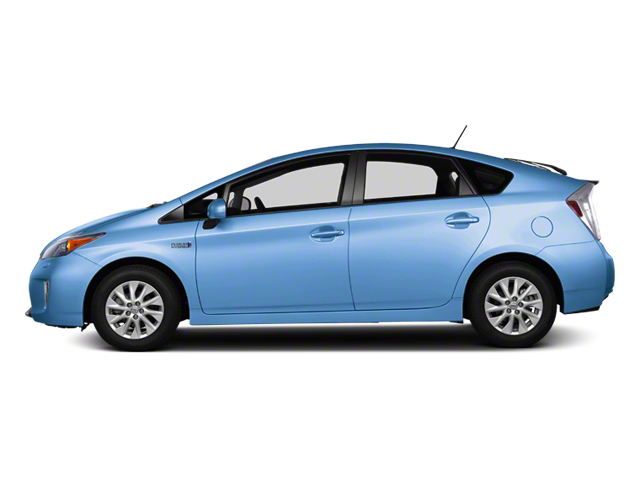Clear Water Blue Metallic 2012 Toyota Prius Plug-In Pictures Prius Plug-In Liftback 5D Plug-In Advanced Hybrid photos side view