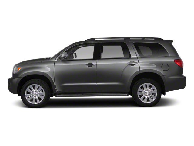 Magnetic Gray Metallic 2012 Toyota Sequoia Pictures Sequoia Utility 4D Platinum 4WD photos side view