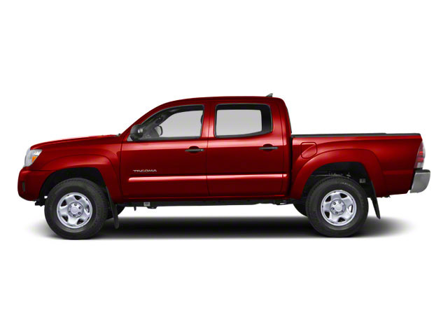 Barcelona Red Metallic 2012 Toyota Tacoma Pictures Tacoma Base 2WD photos side view