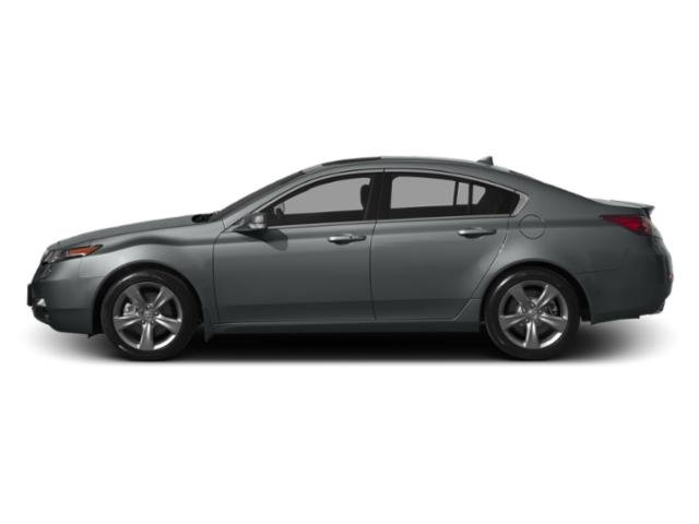 Graphite Luster Metallic 2013 Acura TL Pictures TL Sedan 4D Advance AWD V6 photos side view