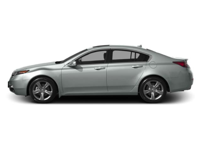 Silver Moon 2013 Acura TL Pictures TL Sedan 4D Advance AWD V6 photos side view