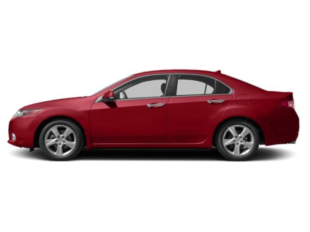 Milano Red 2013 Acura TSX Pictures TSX Sedan 4D SE I4 photos side view