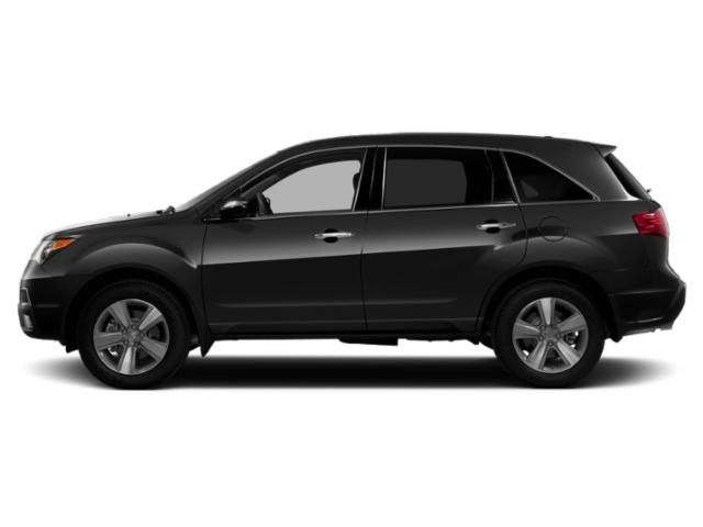 Crystal Black Pearl 2013 Acura MDX Pictures MDX Utility 4D AWD V6 photos side view