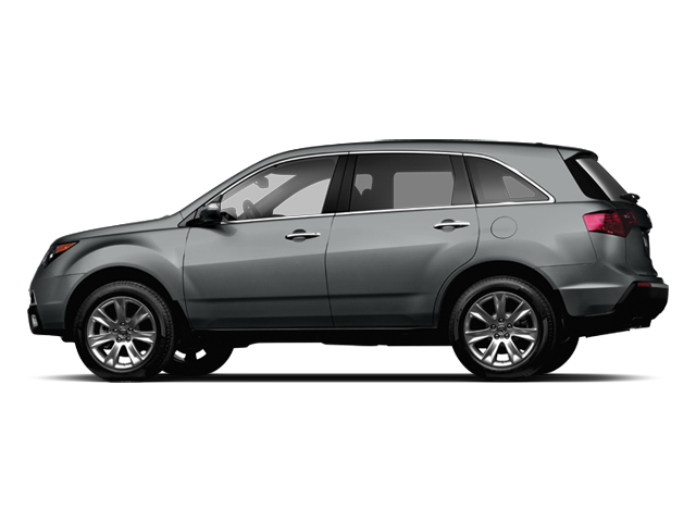 Graphite Luster Metallic 2013 Acura MDX Pictures MDX Utility 4D Advance DVD AWD V6 photos side view