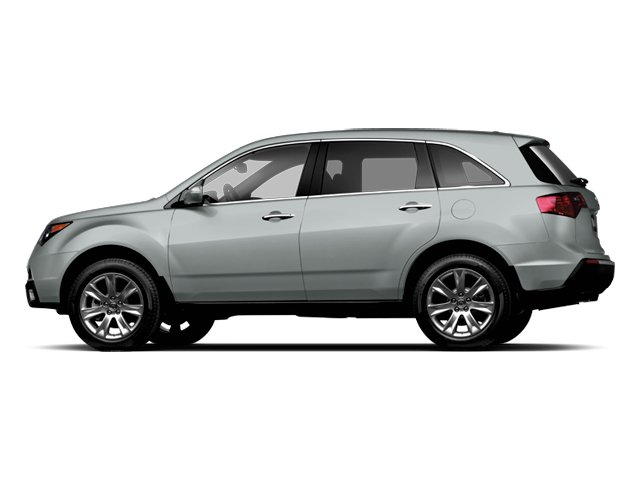 Palladium Metallic 2013 Acura MDX Pictures MDX Utility 4D Advance DVD AWD V6 photos side view
