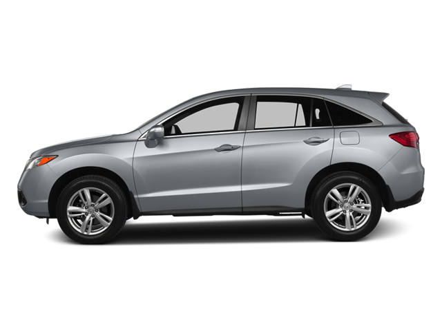 Forged Silver Metallic 2013 Acura RDX Pictures RDX Utility 4D AWD photos side view