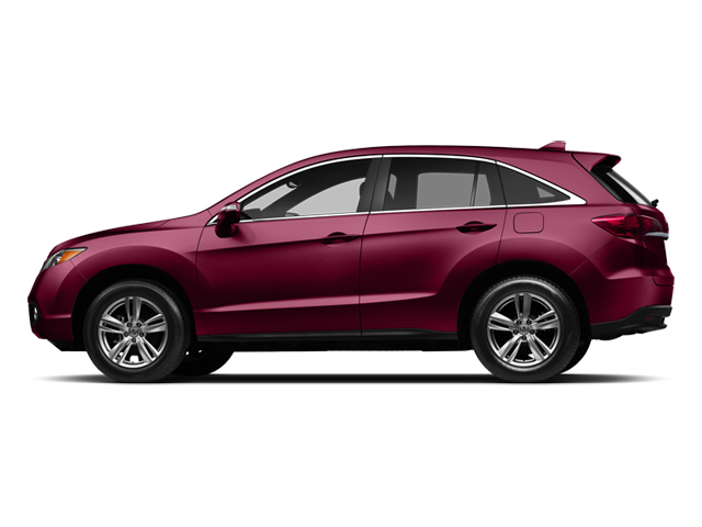 Basque Red Pearl II 2013 Acura RDX Pictures RDX Utility 4D Technology 2WD photos side view
