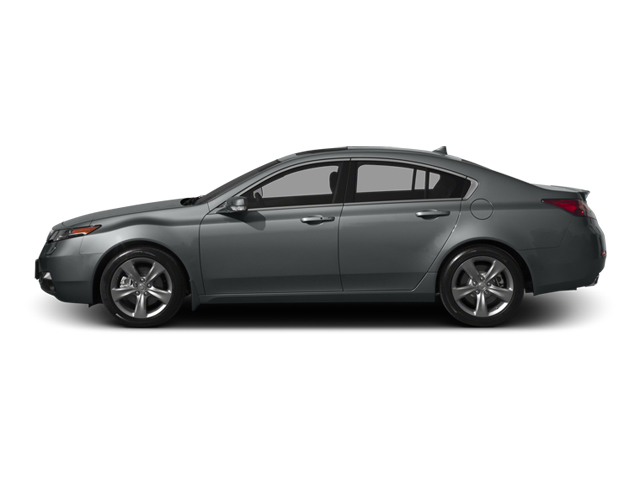 Graphite Luster Metallic 2013 Acura TL Pictures TL Sedan 4D Advance V6 photos side view