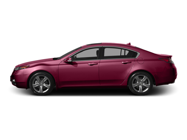 Basque Red Pearl II 2013 Acura TL Pictures TL Sedan 4D Advance V6 photos side view