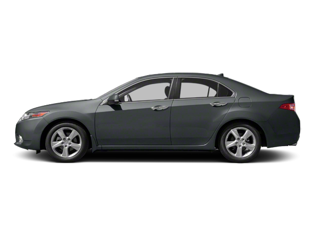 Graphite Luster Metallic 2013 Acura TSX Pictures TSX Sedan 4D I4 photos side view
