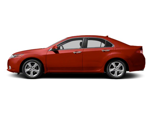 Milano Red 2013 Acura TSX Pictures TSX Sedan 4D I4 photos side view