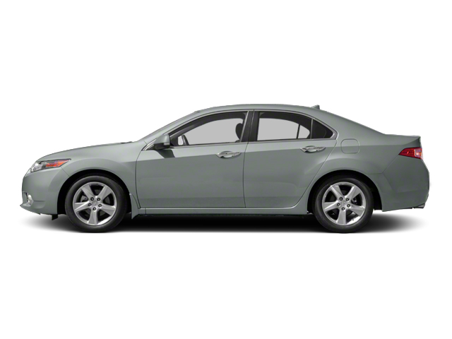 Silver Moon Metallic 2013 Acura TSX Pictures TSX Sedan 4D I4 photos side view
