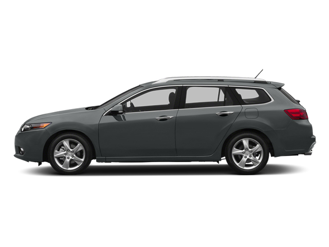 Graphite Luster Metallic 2013 Acura TSX Sport Wagon Pictures TSX Sport Wagon 4D Technology I4 photos side view