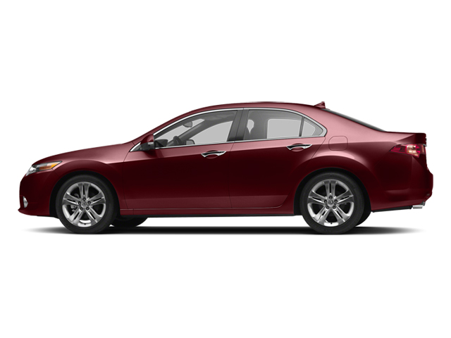 Milano Red 2013 Acura TSX Pictures TSX Sedan 4D Technology V6 photos side view