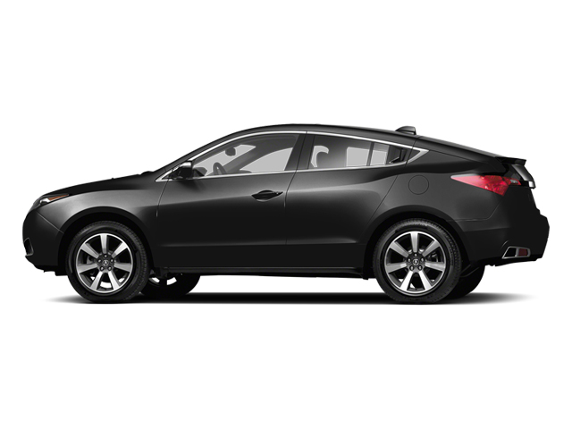 Crystal Black Pearl 2013 Acura ZDX Pictures ZDX Utility 4D AWD V6 photos side view