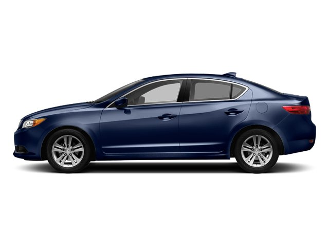 Fathom Blue Pearl 2013 Acura ILX Pictures ILX Sedan 4D photos side view