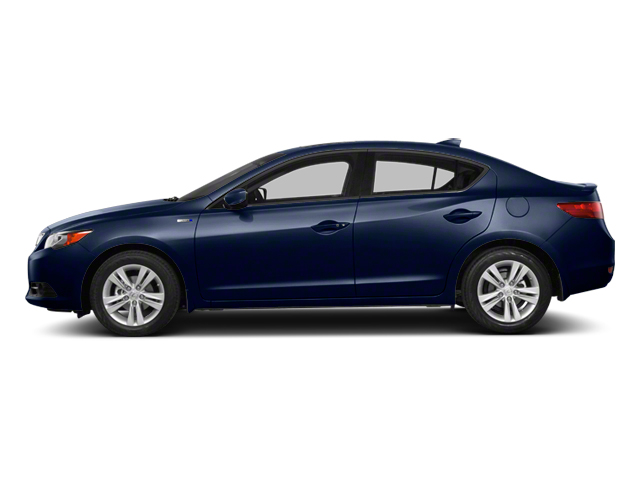 Fathom Blue Pearl 2013 Acura ILX Pictures ILX Sedan 4D Hybrid Technology photos side view