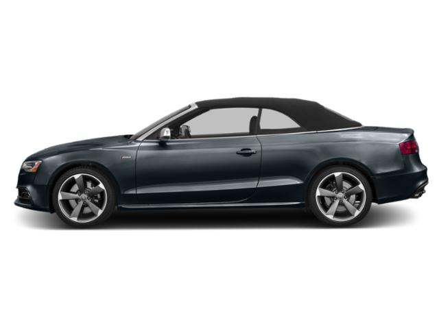 Moonlight Blue Metallic 2013 Audi S5 Pictures S5 Convertible 2D S5 Prestige AWD photos side view