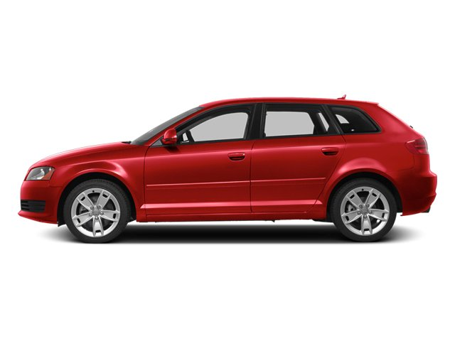 Brilliant Red 2013 Audi A3 Pictures A3 Hatchback 4D 2.0T Premium photos side view