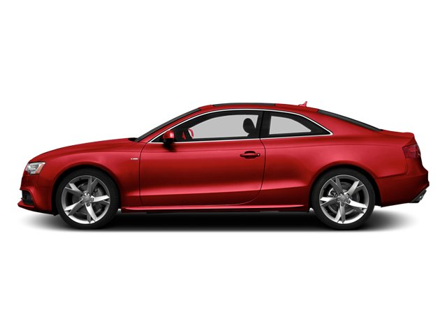 Brilliant Red 2013 Audi A5 Pictures A5 Coupe 2D Premium AWD photos side view