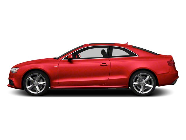 Misano Red 2013 Audi A5 Pictures A5 Coupe 2D S-Line AWD photos side view