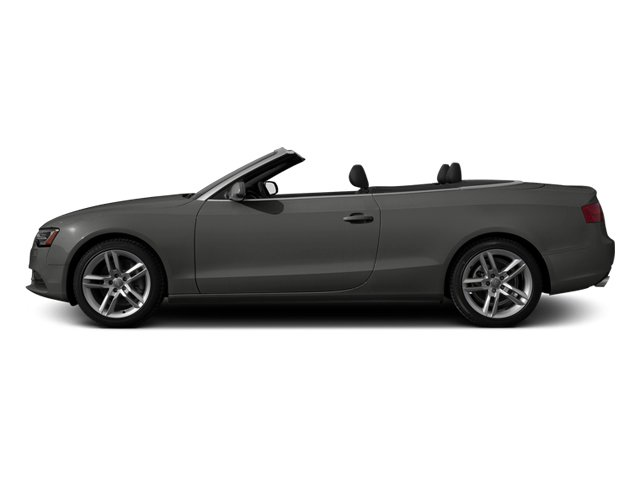 Monsoon Gray Metallic 2013 Audi A5 Pictures A5 Convertible 2D Prestige 2WD photos side view