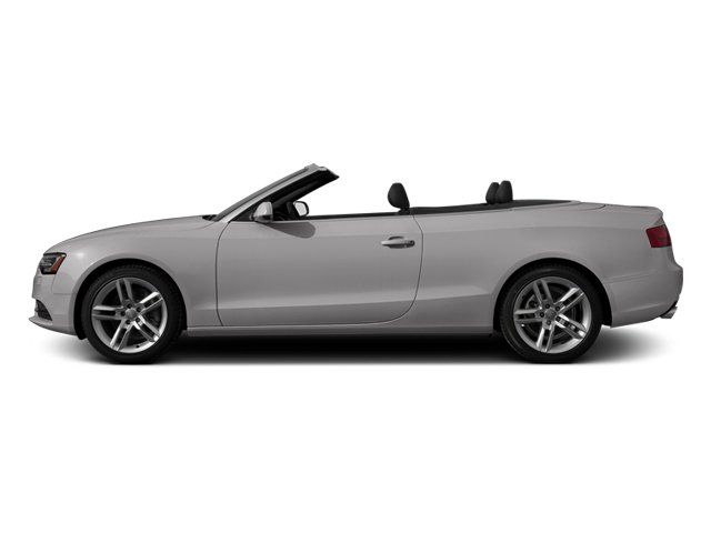 Cuvee Silver Metallic 2013 Audi A5 Pictures A5 Convertible 2D Premium Plus 2WD photos side view