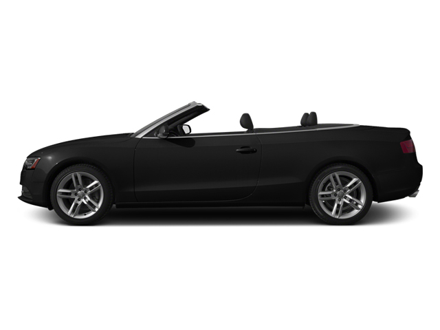 Brilliant Black 2013 Audi A5 Pictures A5 Convertible 2D Prestige 2WD photos side view