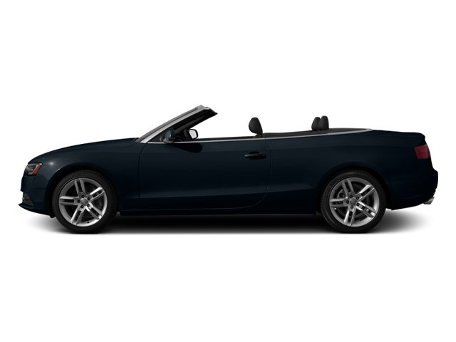 Moonlight Blue Metallic 2013 Audi A5 Pictures A5 Convertible 2D Premium Plus 2WD photos side view