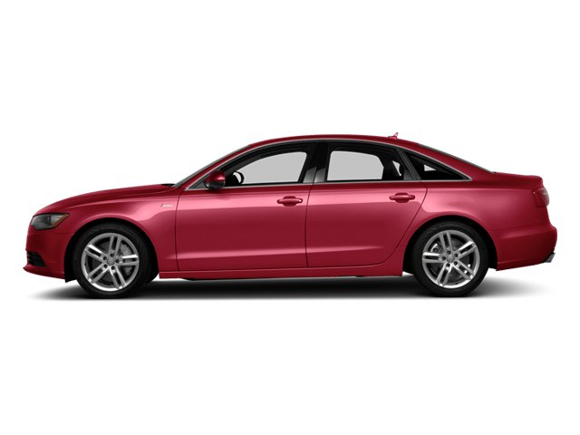 Garnet Red Pearl 2013 Audi A6 Pictures A6 Sedan 4D 2.0T Premium Plus 2WD photos side view