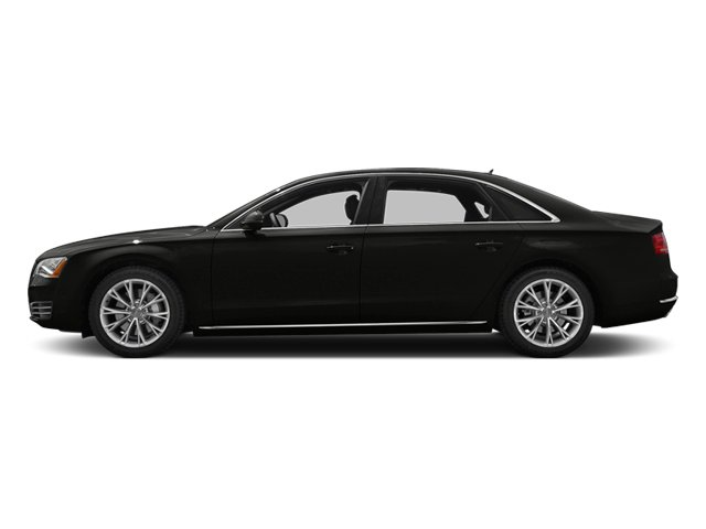 Havanna Black Metallic 2013 Audi A8 L Pictures A8 L Sedan 4D 6.3 L AWD W12 photos side view