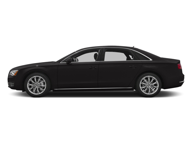 Oolong Grey Metallic 2013 Audi A8 L Pictures A8 L Sedan 4D 6.3 L AWD W12 photos side view