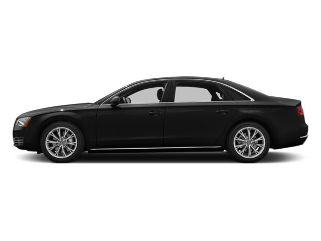 Phantom Black Pearl 2013 Audi A8 L Pictures A8 L Sedan 4D 3.0T L AWD V6 Turbo photos side view