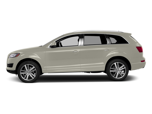 Ice Silver Metallic 2013 Audi Q7 Pictures Q7 Utility 4D 3.0 TDI Prestige S-Line A photos side view